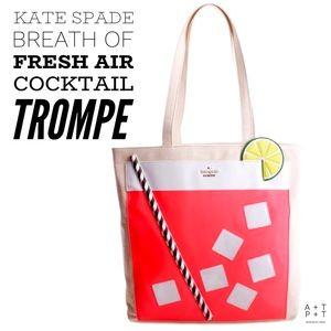 Kate Spade Breath of Fresh Air Cocktail Tote